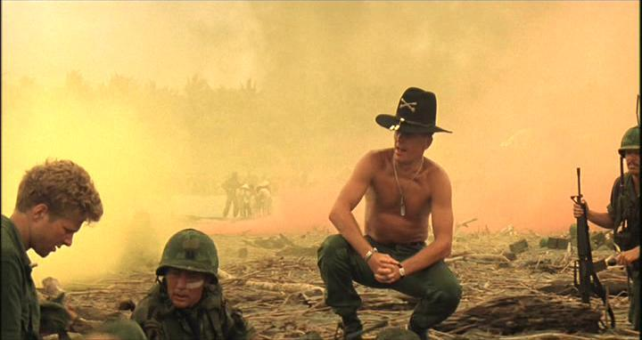 """I love the smell of napalm in the morning.  It smells like, victory."""